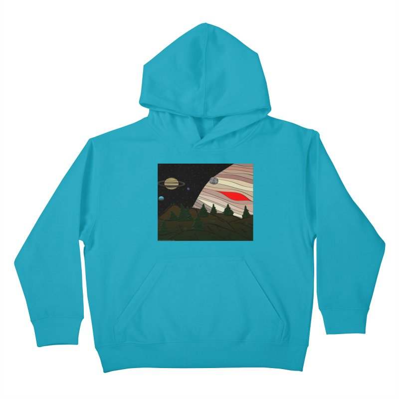Was It All A Dream Kids Pullover Hoody by Every Drop's An Idea's Artist Shop