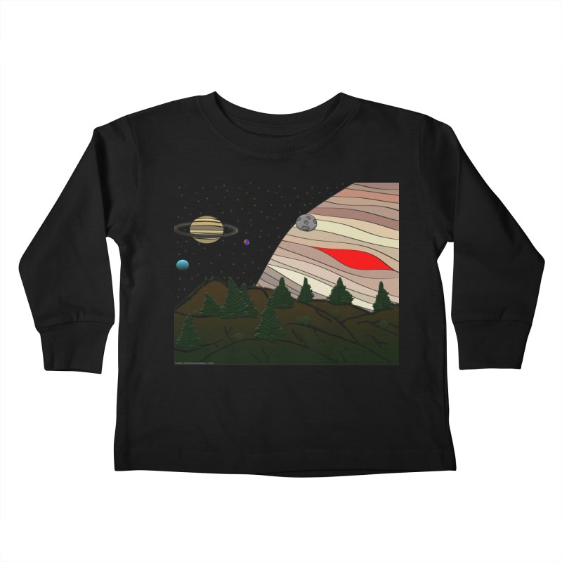 Was It All A Dream Kids Toddler Longsleeve T-Shirt by Every Drop's An Idea's Artist Shop
