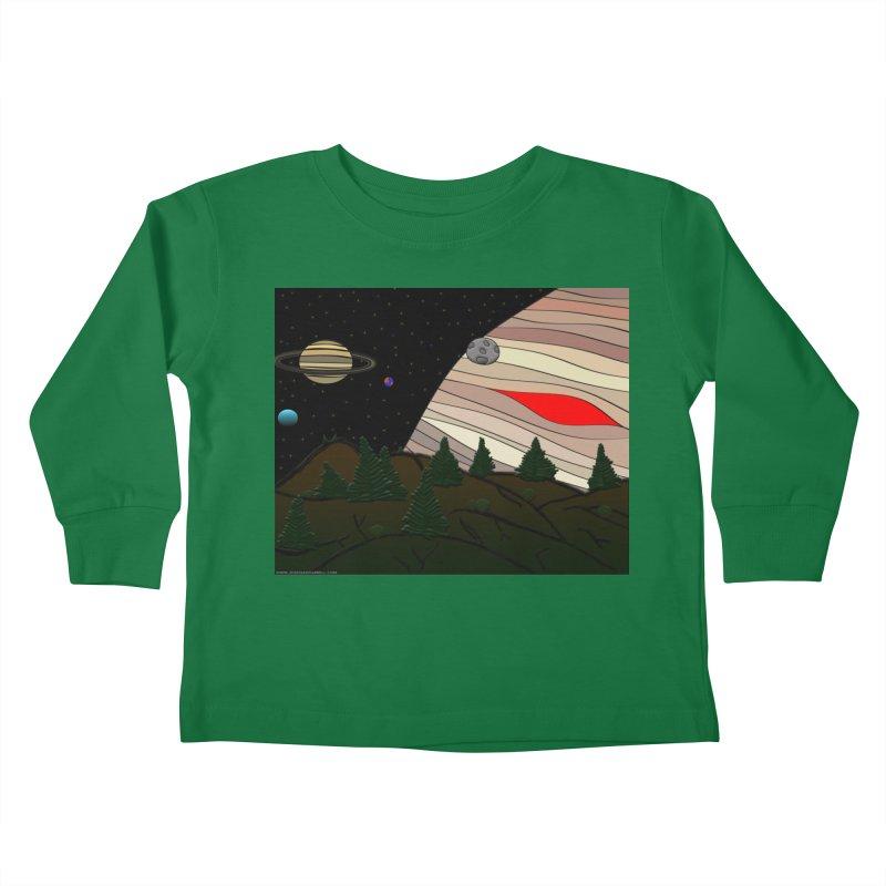 Was It All A Dream Kids Toddler Longsleeve T-Shirt by Every Drop's An Idea's Artist Shop