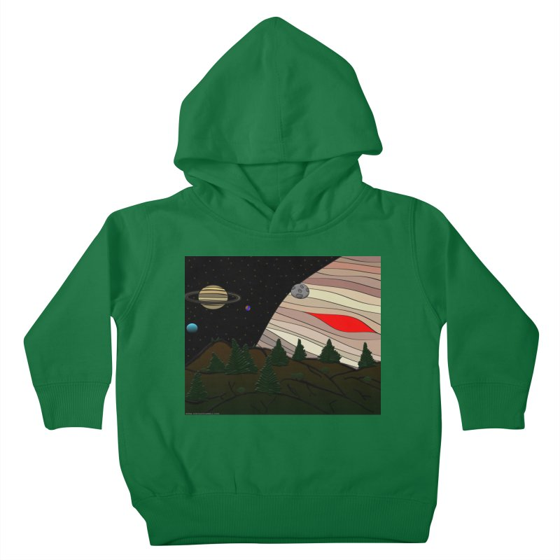 Was It All A Dream Kids Toddler Pullover Hoody by Every Drop's An Idea's Artist Shop