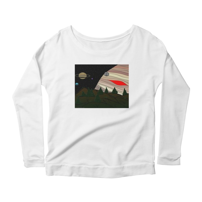 Was It All A Dream Women's Scoop Neck Longsleeve T-Shirt by Every Drop's An Idea's Artist Shop