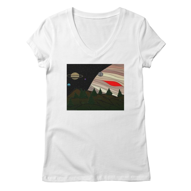 Was It All A Dream Women's Regular V-Neck by Every Drop's An Idea's Artist Shop