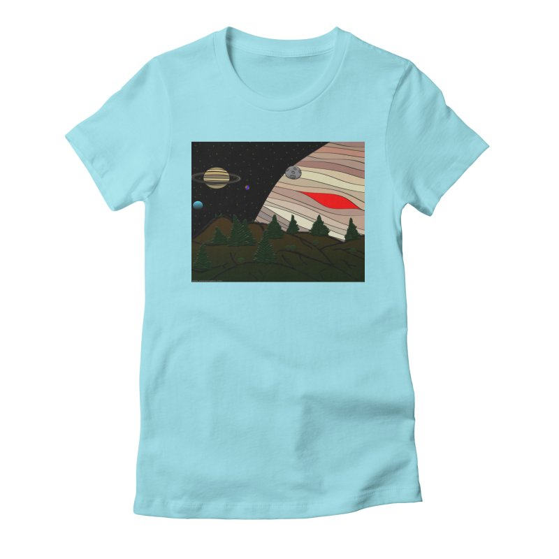 Was It All A Dream Women's Fitted T-Shirt by Every Drop's An Idea's Artist Shop