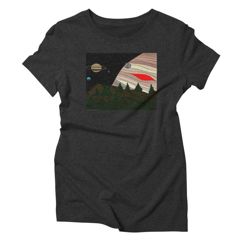 Was It All A Dream Women's Triblend T-Shirt by Every Drop's An Idea's Artist Shop