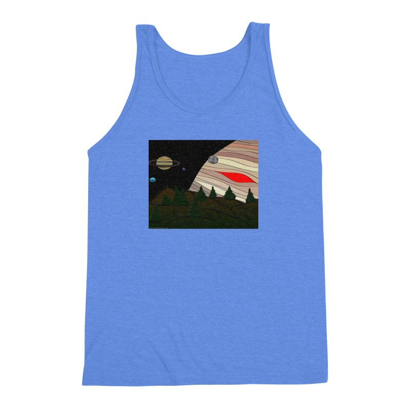 Was It All A Dream Men's Triblend Tank by Every Drop's An Idea's Artist Shop