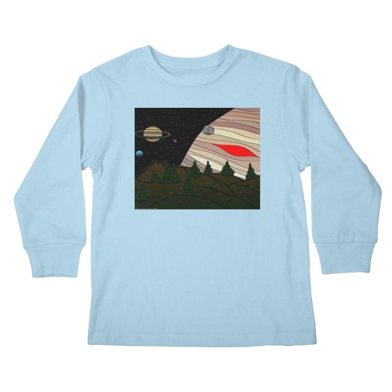 Was It All A Dream Kids Longsleeve T-Shirt by Every Drop's An Idea's Artist Shop