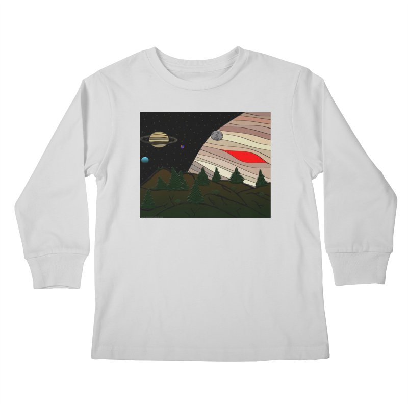 Was It All A Dream Kids Longsleeve T-Shirt by Every Drop's An Idea's Artist Shop