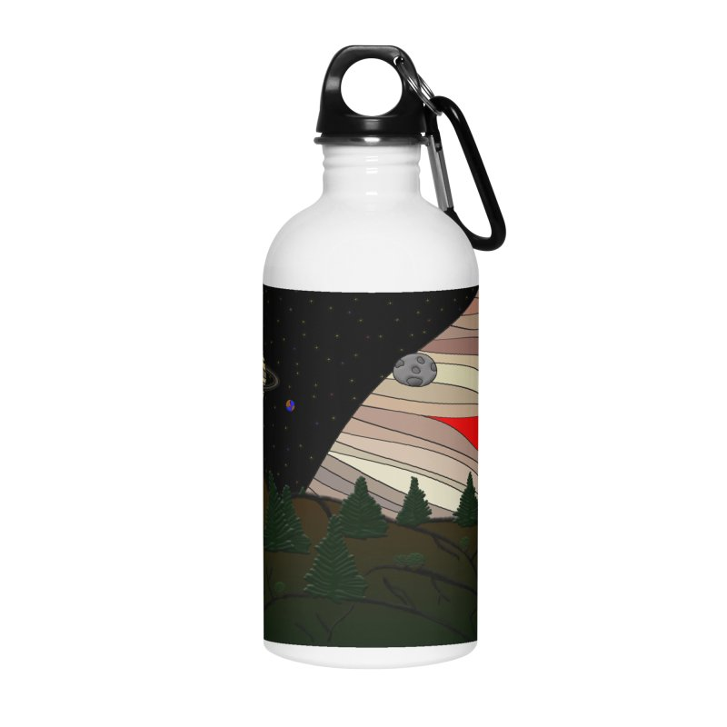 Was It All A Dream Accessories Water Bottle by Every Drop's An Idea's Artist Shop