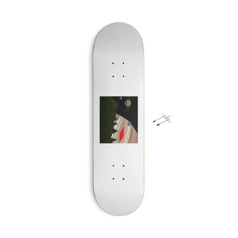 Was It All A Dream Accessories With Hanging Hardware Skateboard by Every Drop's An Idea's Artist Shop