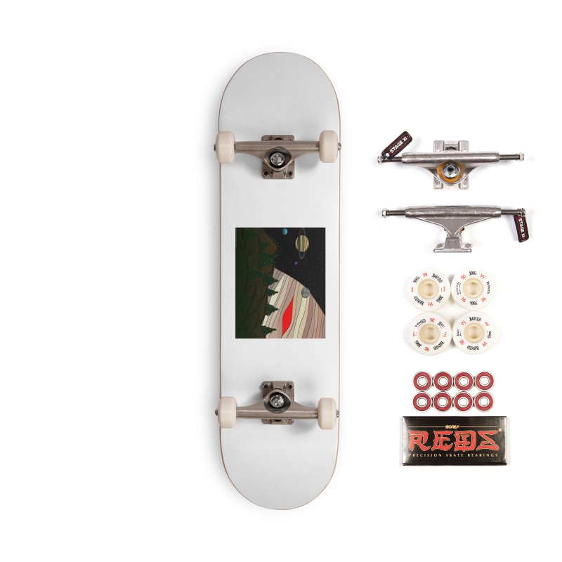 Was It All A Dream Accessories Complete - Pro Skateboard by Every Drop's An Idea's Artist Shop