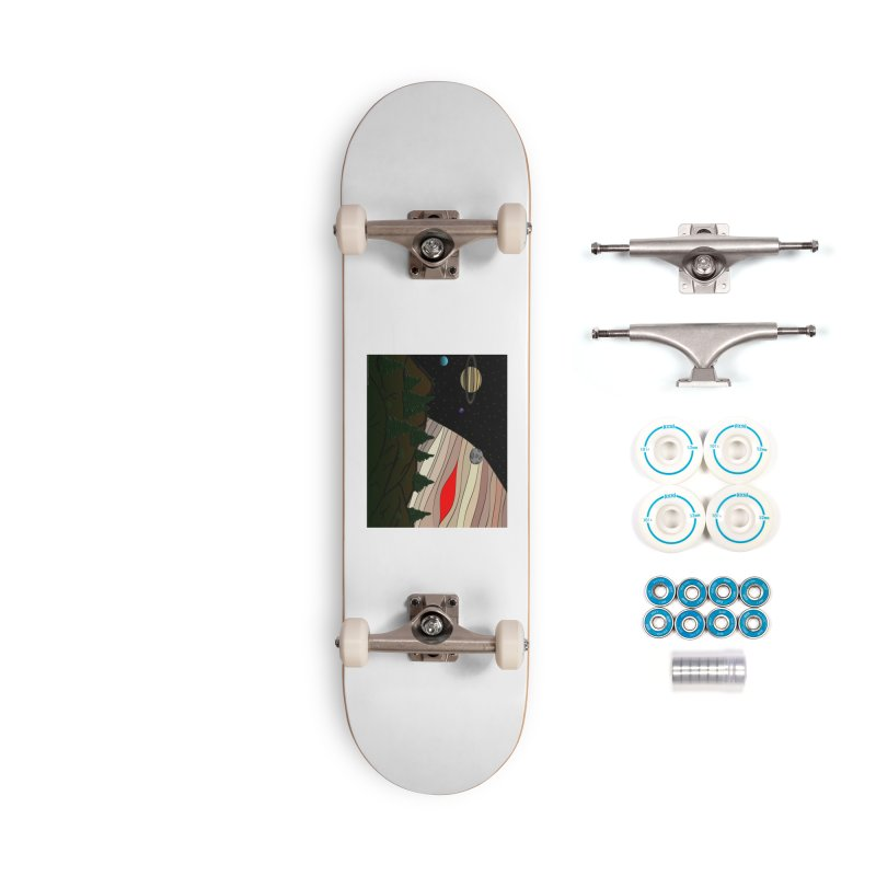 Was It All A Dream Accessories Complete - Basic Skateboard by Every Drop's An Idea's Artist Shop