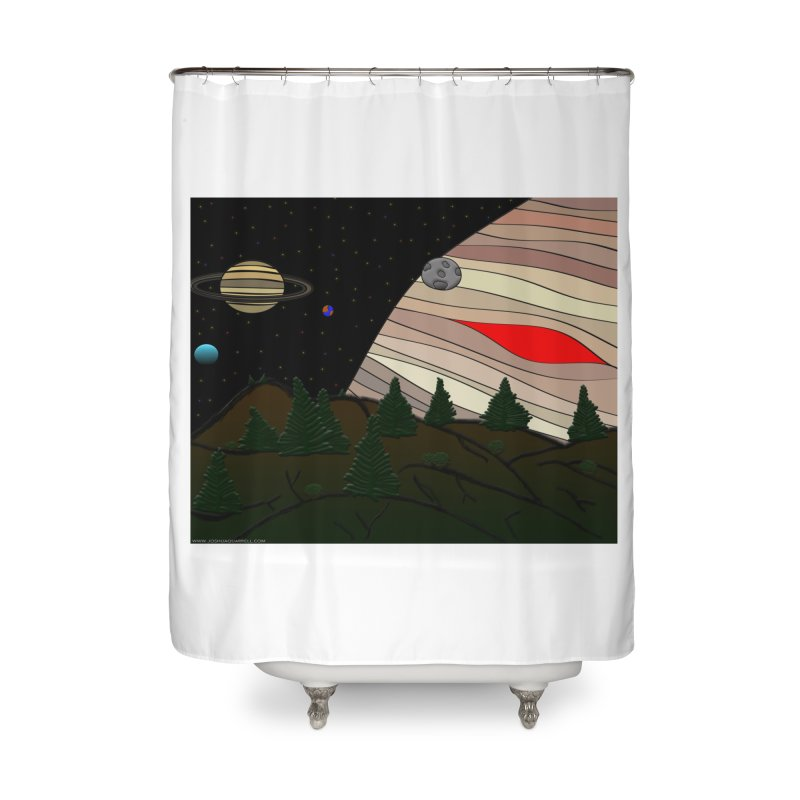 Was It All A Dream Home Shower Curtain by Every Drop's An Idea's Artist Shop
