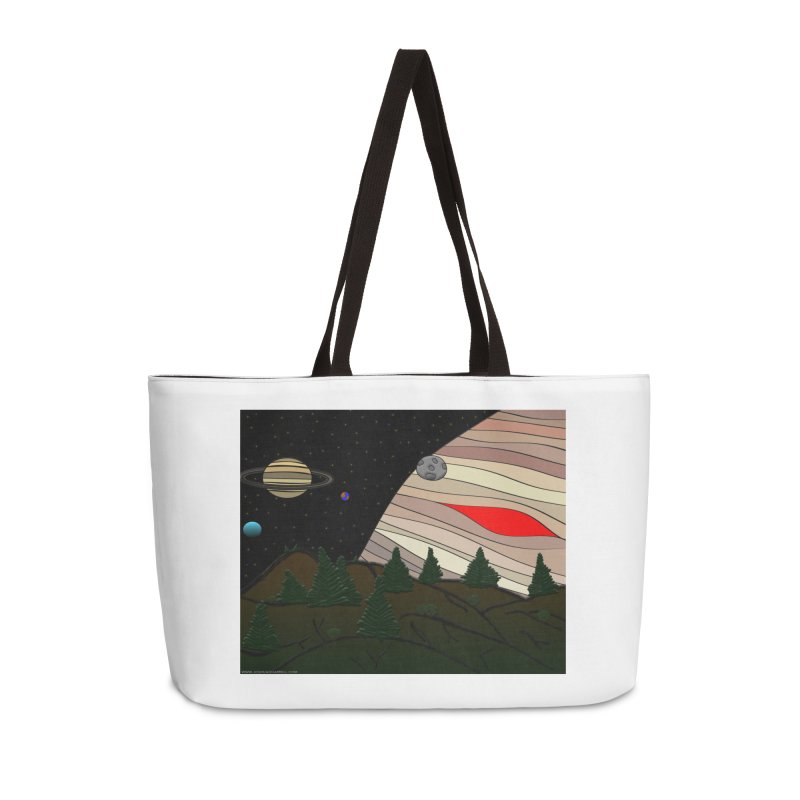 Was It All A Dream Accessories Weekender Bag Bag by Every Drop's An Idea's Artist Shop