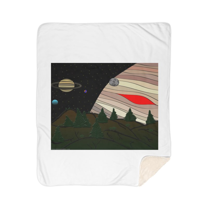 Was It All A Dream Home Sherpa Blanket Blanket by Every Drop's An Idea's Artist Shop