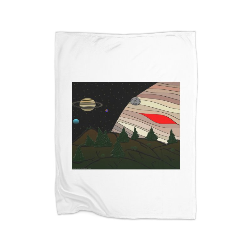 Was It All A Dream Home Fleece Blanket Blanket by Every Drop's An Idea's Artist Shop