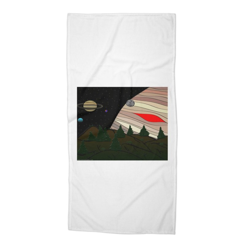 Was It All A Dream Accessories Beach Towel by Every Drop's An Idea's Artist Shop