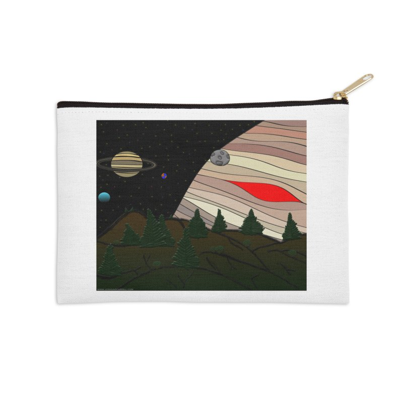 Was It All A Dream Accessories Zip Pouch by Every Drop's An Idea's Artist Shop