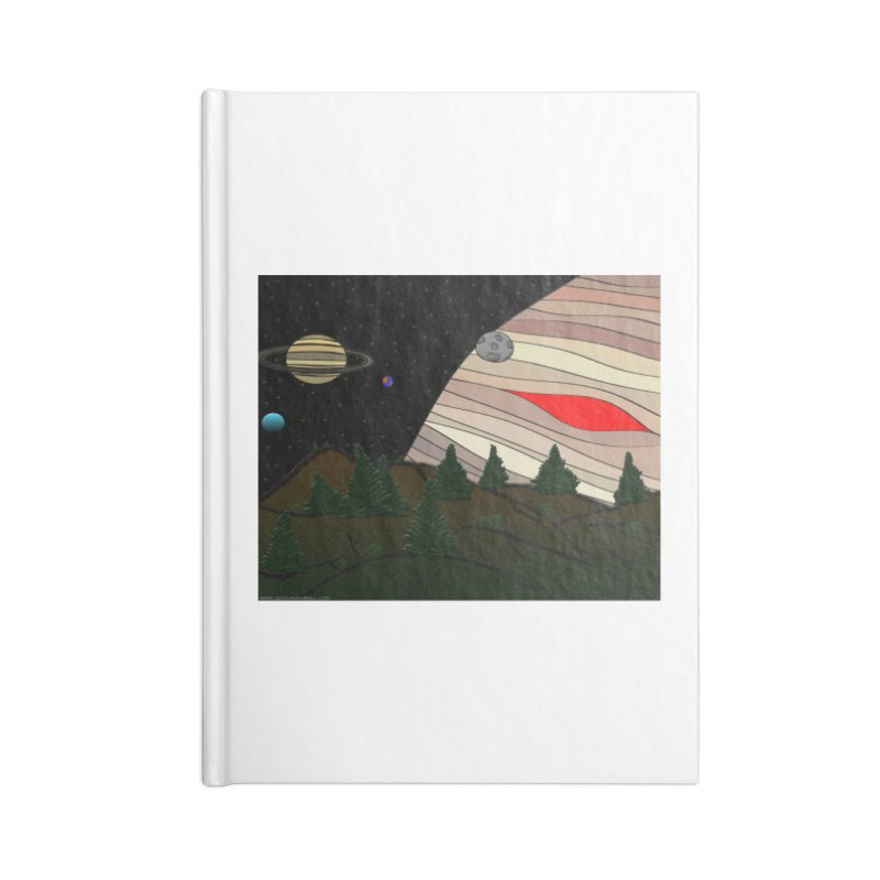 Was It All A Dream Accessories Lined Journal Notebook by Every Drop's An Idea's Artist Shop