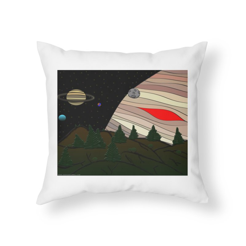 Was It All A Dream Home Throw Pillow by Every Drop's An Idea's Artist Shop