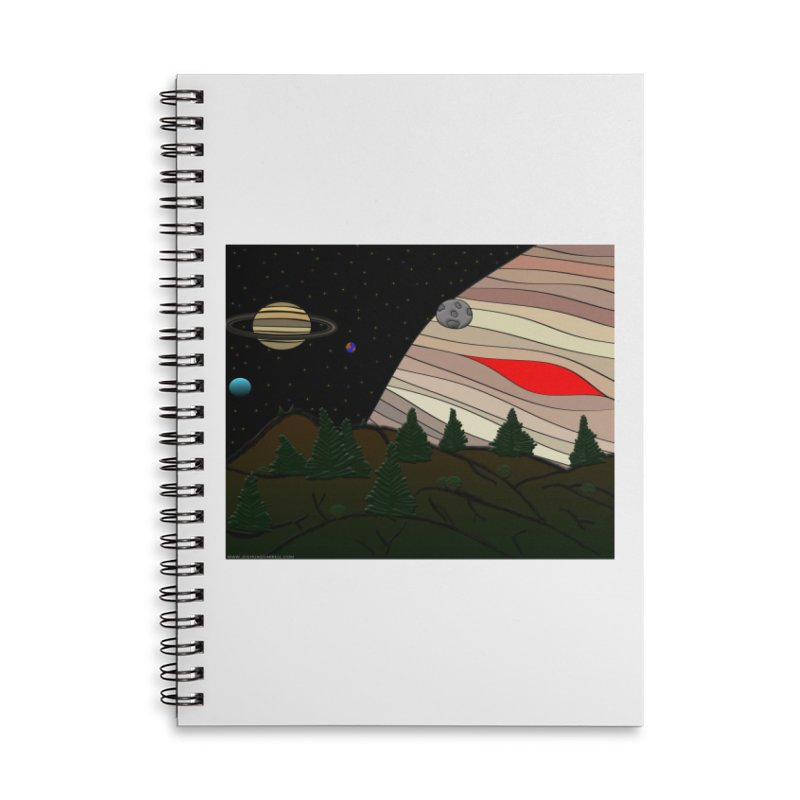 Was It All A Dream Accessories Lined Spiral Notebook by Every Drop's An Idea's Artist Shop