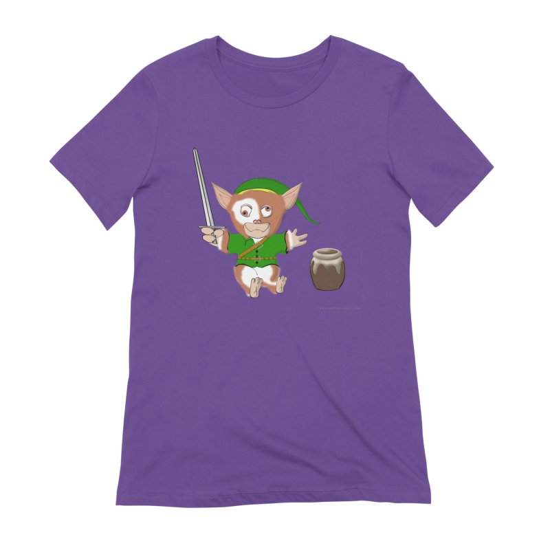 Gremlink Women's Extra Soft T-Shirt by Every Drop's An Idea's Artist Shop