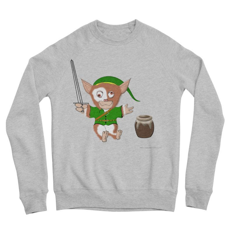 Gremlink Women's Sponge Fleece Sweatshirt by Every Drop's An Idea's Artist Shop
