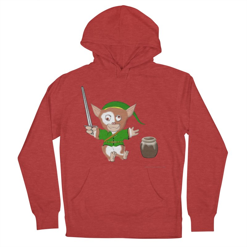Gremlink Men's French Terry Pullover Hoody by Every Drop's An Idea's Artist Shop