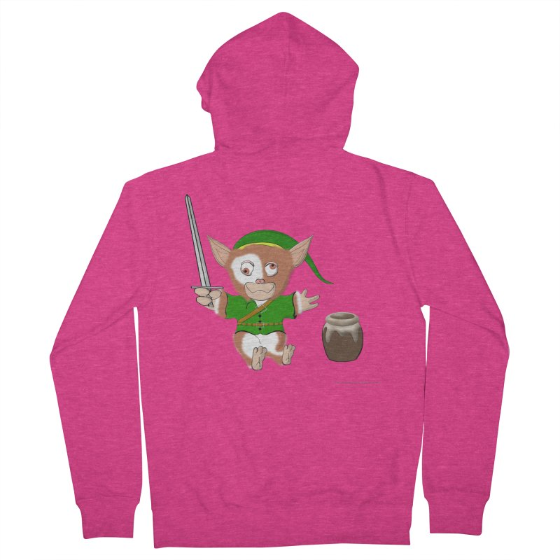 Gremlink Women's French Terry Zip-Up Hoody by Every Drop's An Idea's Artist Shop