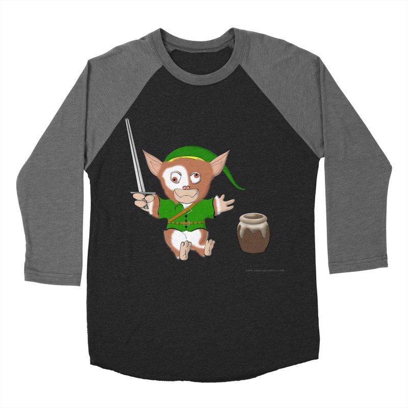Gremlink Men's Baseball Triblend Longsleeve T-Shirt by Every Drop's An Idea's Artist Shop