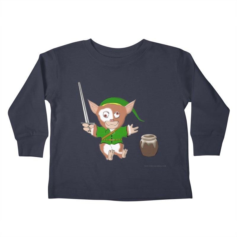 Gremlink Kids Toddler Longsleeve T-Shirt by Every Drop's An Idea's Artist Shop