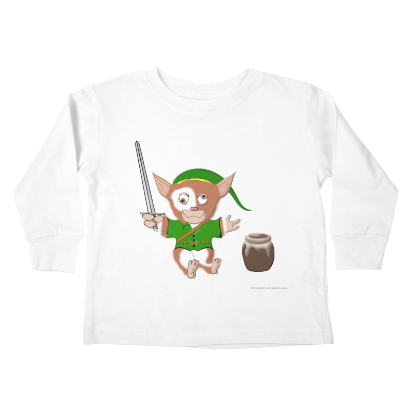 Gremlink Kids Toddler Longsleeve T-Shirt by Every Drop's An Idea's Artist Shop