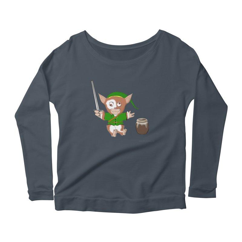 Gremlink Women's Scoop Neck Longsleeve T-Shirt by Every Drop's An Idea's Artist Shop