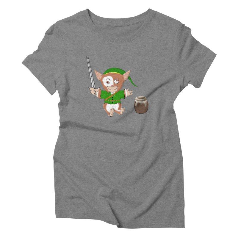 Gremlink Women's Triblend T-Shirt by Every Drop's An Idea's Artist Shop