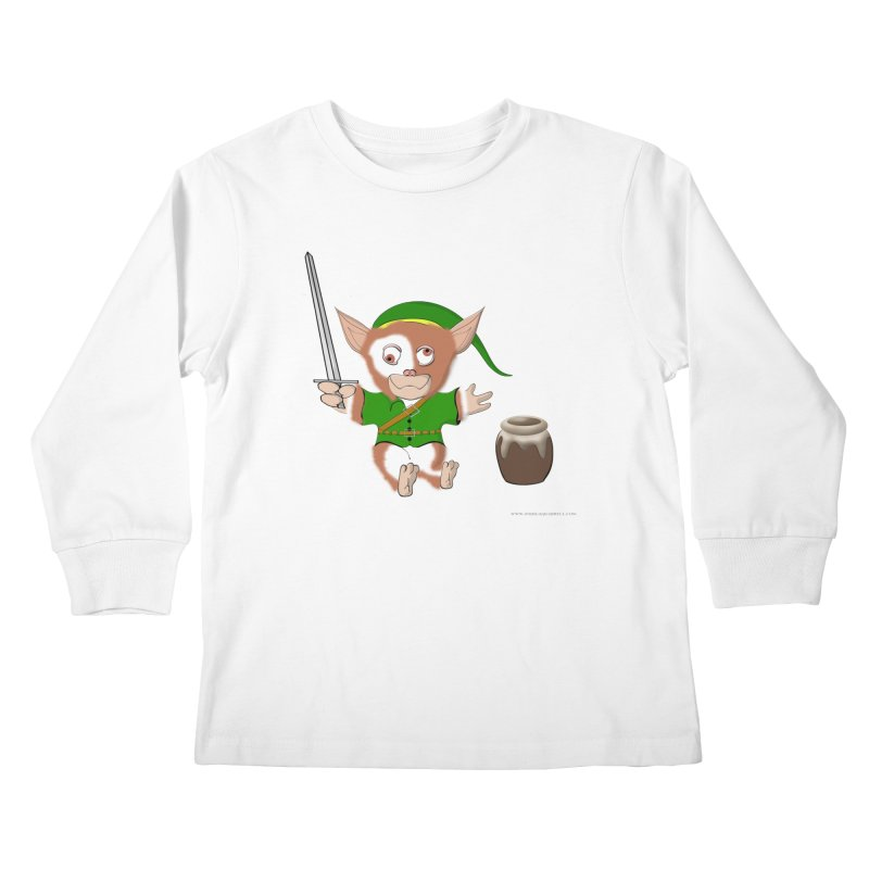 Gremlink Kids Longsleeve T-Shirt by Every Drop's An Idea's Artist Shop