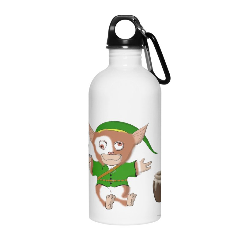 Gremlink Accessories Water Bottle by Every Drop's An Idea's Artist Shop