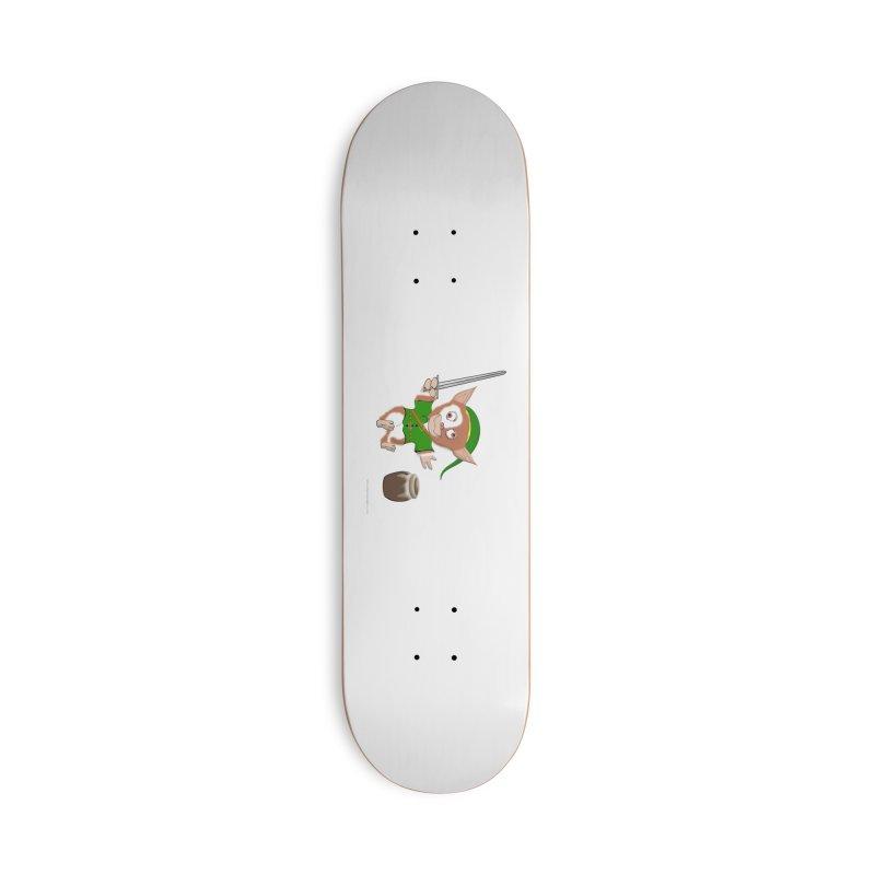 Gremlink Accessories Deck Only Skateboard by Every Drop's An Idea's Artist Shop