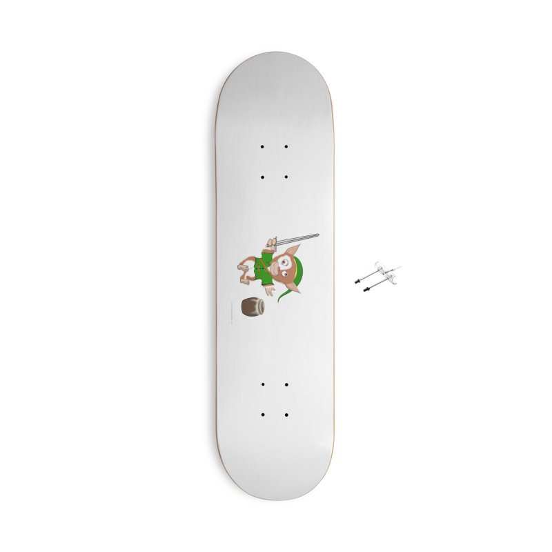 Gremlink Accessories With Hanging Hardware Skateboard by Every Drop's An Idea's Artist Shop
