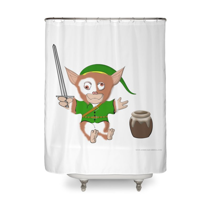 Gremlink Home Shower Curtain by Every Drop's An Idea's Artist Shop
