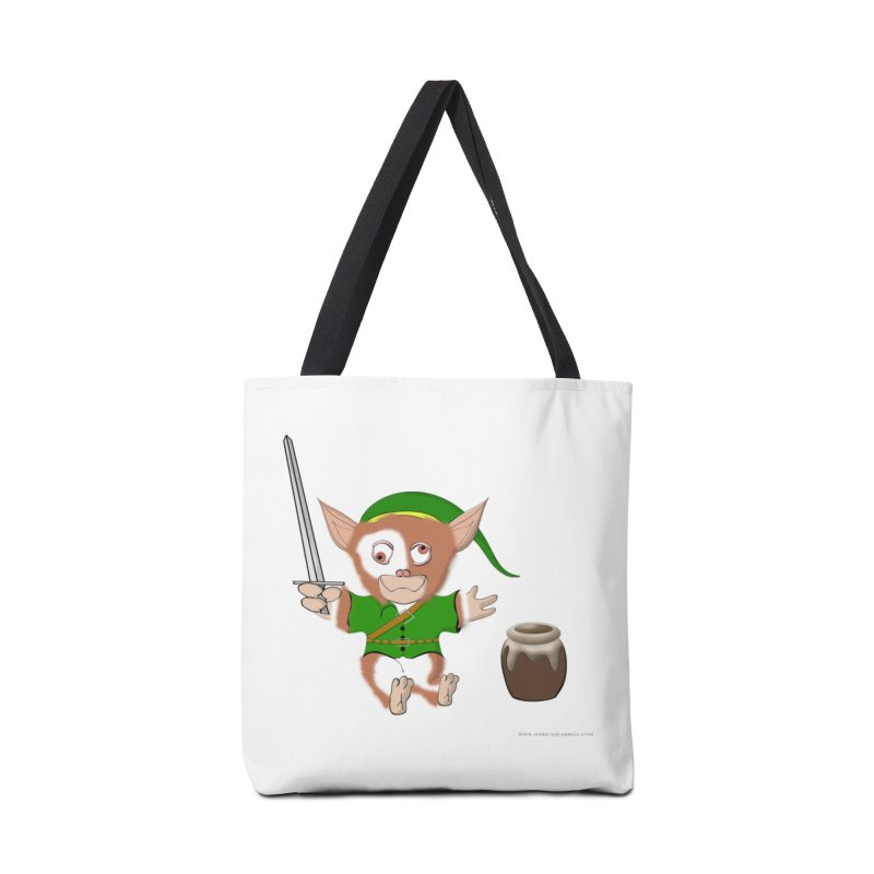 Gremlink Accessories Tote Bag Bag by Every Drop's An Idea's Artist Shop