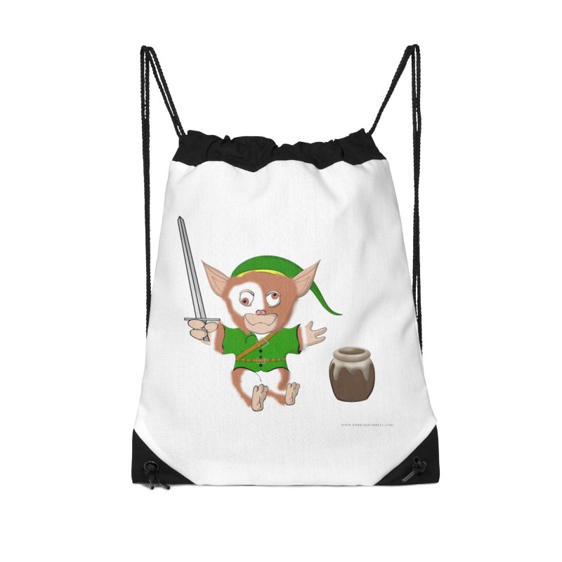 Gremlink Accessories Drawstring Bag Bag by Every Drop's An Idea's Artist Shop