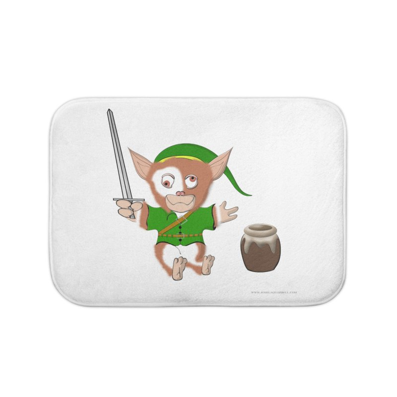 Gremlink Home Bath Mat by Every Drop's An Idea's Artist Shop
