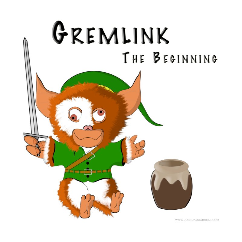 Gremlink Kids T-Shirt by Every Drop's An Idea's Artist Shop
