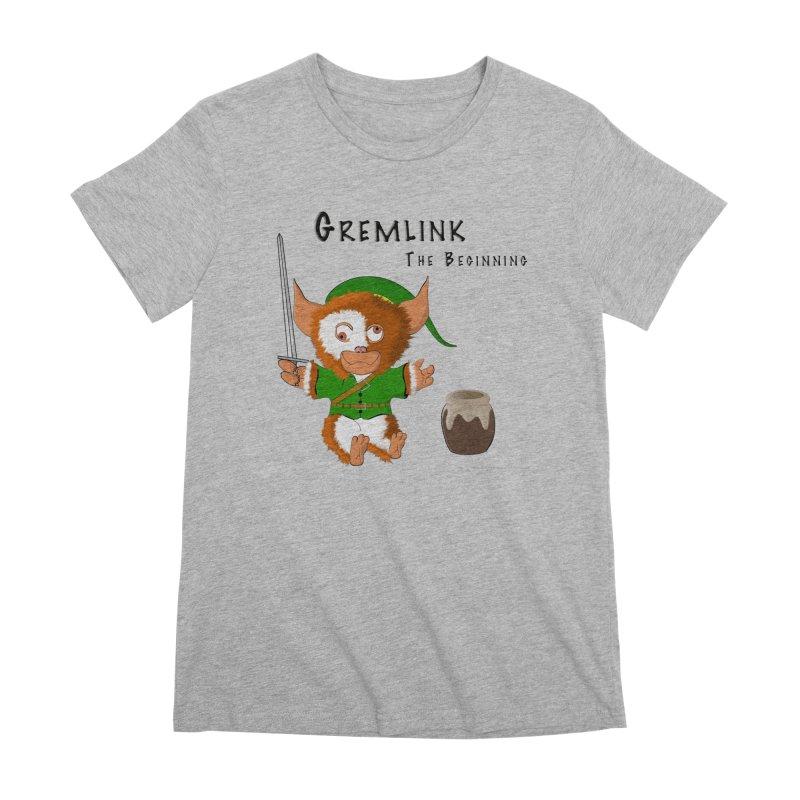 Gremlink Women's Premium T-Shirt by Every Drop's An Idea's Artist Shop