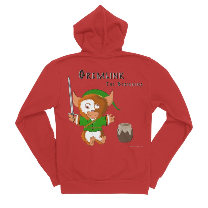 Gremlink Men's Zip-Up Hoody by Every Drop's An Idea's Artist Shop