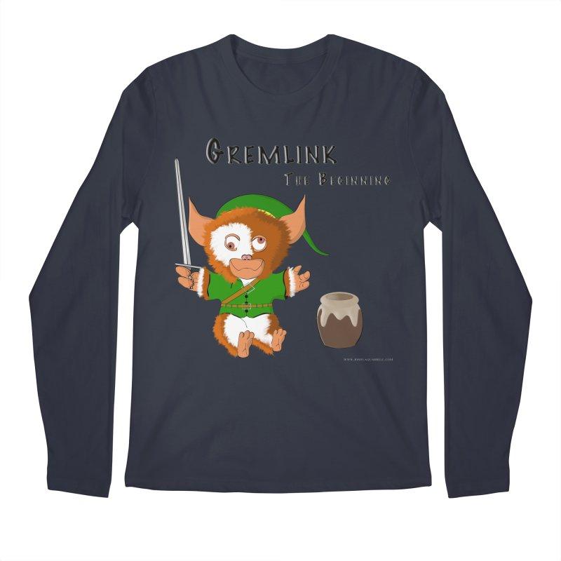 Gremlink Men's Regular Longsleeve T-Shirt by Every Drop's An Idea's Artist Shop