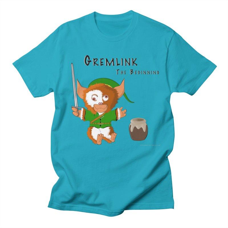 Gremlink Men's T-Shirt by Every Drop's An Idea's Artist Shop
