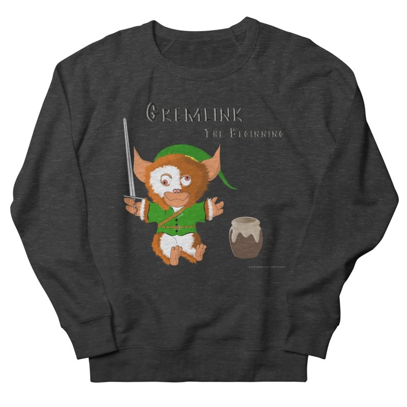 Gremlink Men's French Terry Sweatshirt by Every Drop's An Idea's Artist Shop