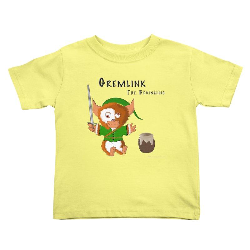 Gremlink Kids Toddler T-Shirt by Every Drop's An Idea's Artist Shop