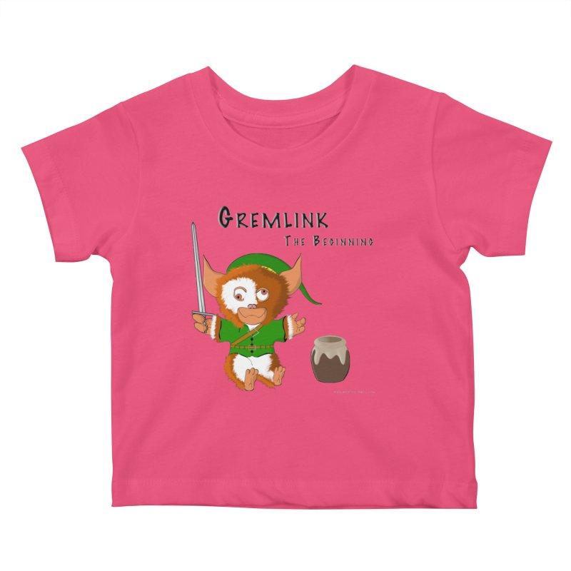 Gremlink Kids Baby T-Shirt by Every Drop's An Idea's Artist Shop