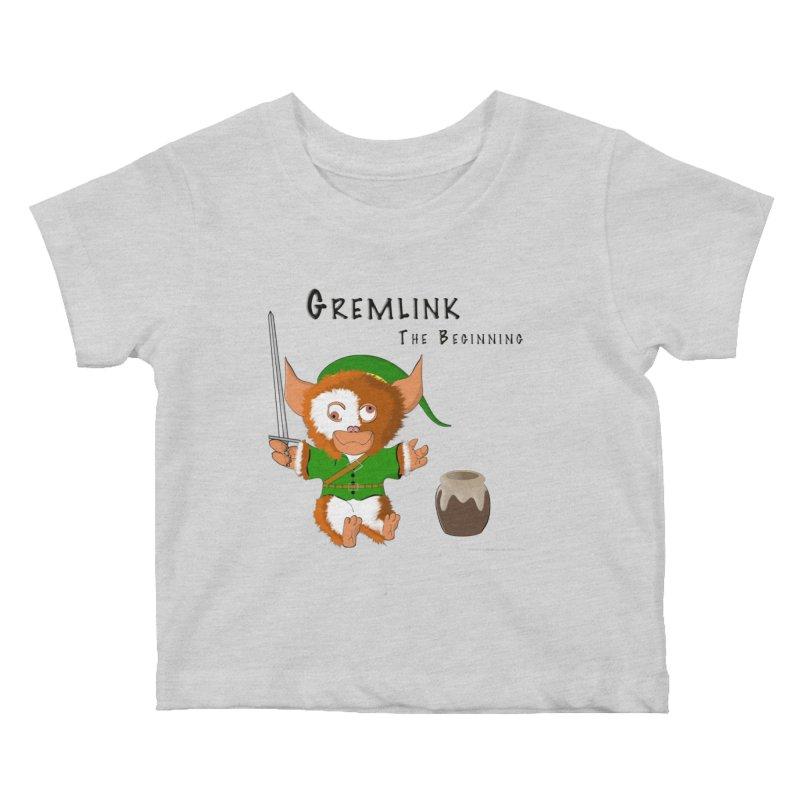 Gremlink Kids Baby T-Shirt by Every Drop's An Idea's Artist Shop